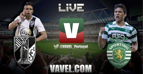 Vitória de Guimarães x Sporting, directo