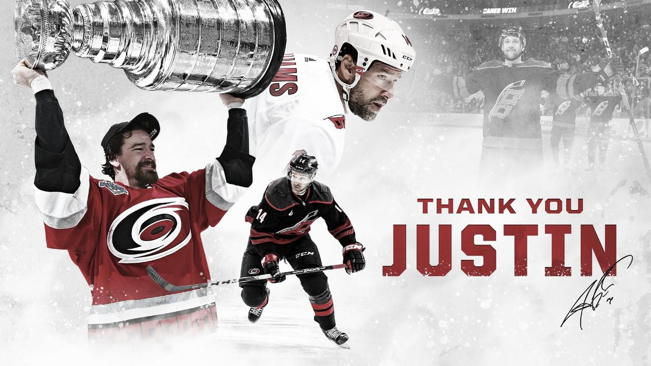 Justin Williams se retira del hockey