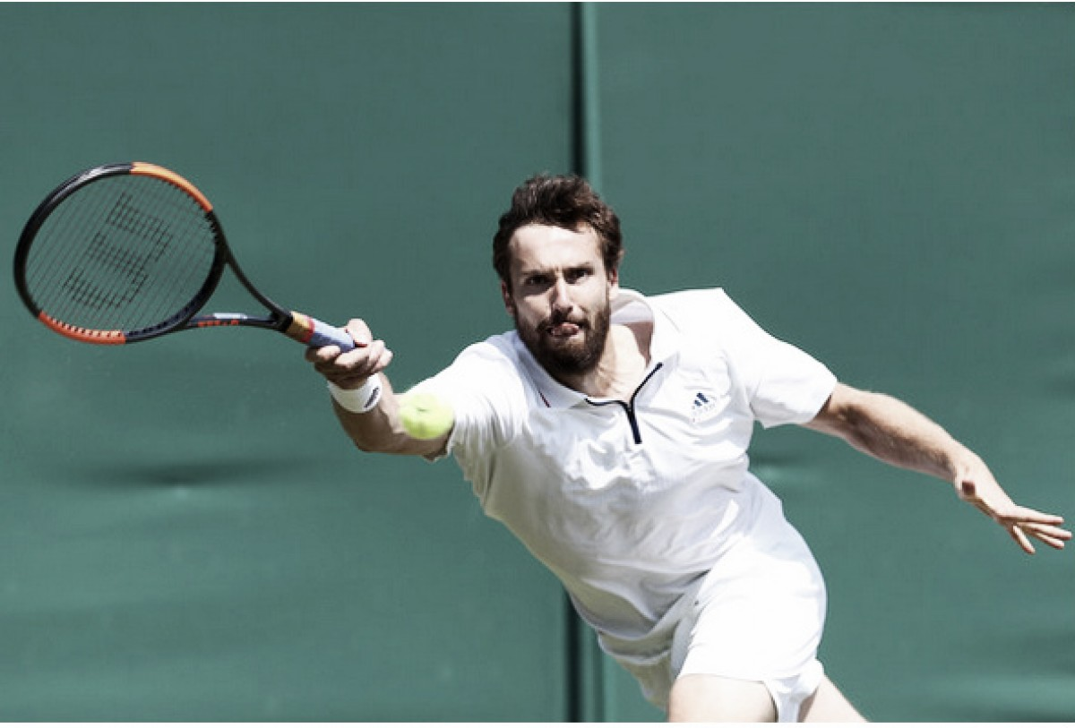Ernests Gulbis da la sorpresa en Wimbledon