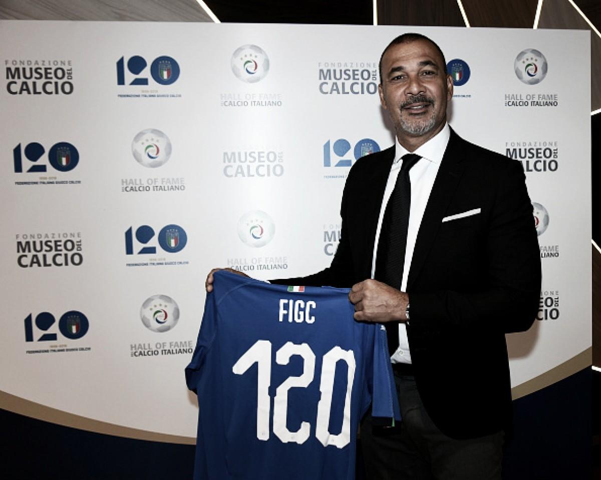 """Gullit é indicado ao Hall da Fama Italiano e dispara: """"Champions não irá para Itália tão cedo"""""""