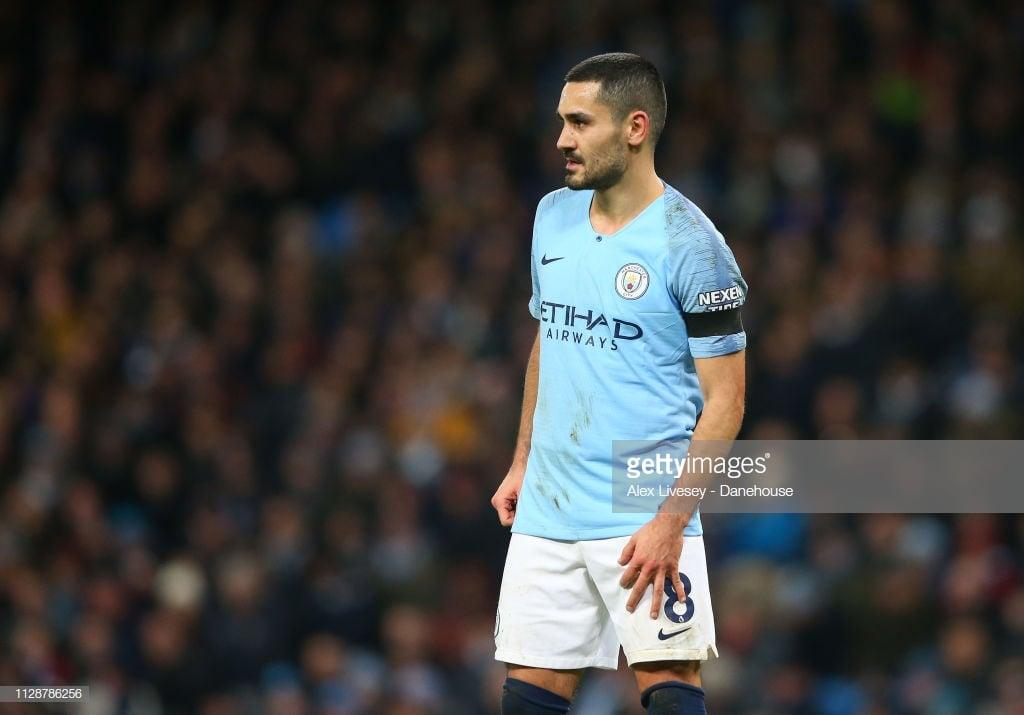 Ilkay Gundogan makes Manchester City contract admission