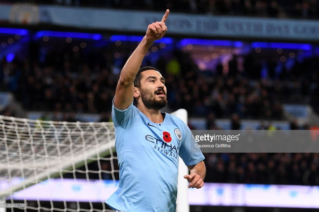 Manchester City 3-1 Manchester United: Dominant City return to the top of the table following convincingvictory over rivals
