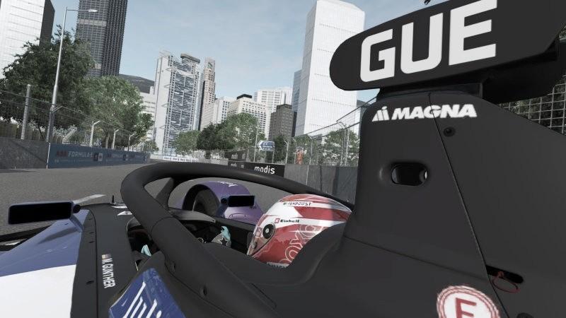 Max Guenther vence primeira prova do campeonato virtual da Fórmula E