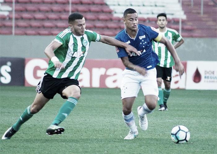 Resultado Coritiba x Cruzeiro pela Campeonato Brasileiro Sub-20 (1-1)