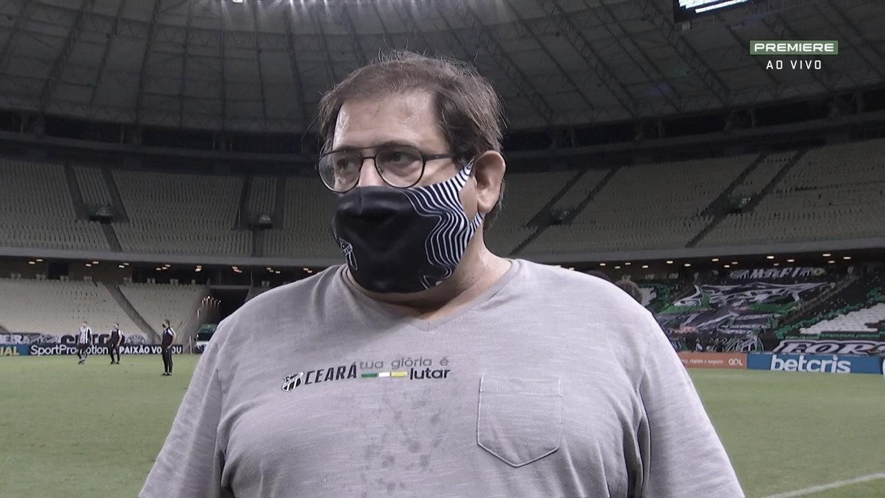 Guto Ferreira em Ceará 0 a 2 Internacional (Premiere / Reprodução)