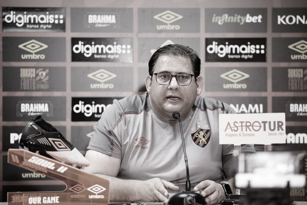 """Guto Ferreira se diz motivado para nova temporada no Sport: """"Feliz pelo trabalho até aqui"""""""