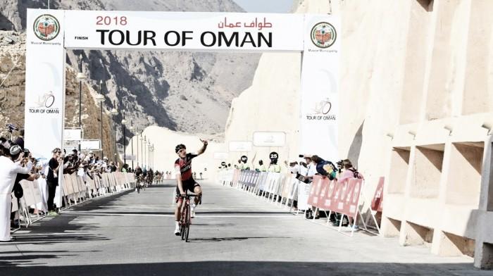 Tour of Oman, Haas tappa e primato
