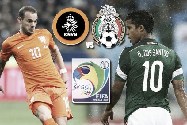 Snejder y Gio son dos de los mejores jugadores de este partido entre Holanda y México
