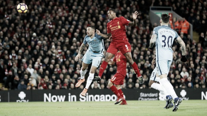 Premier League, Wijnaldum lancia il Liverpool contro il City ad Anfield (1-0)