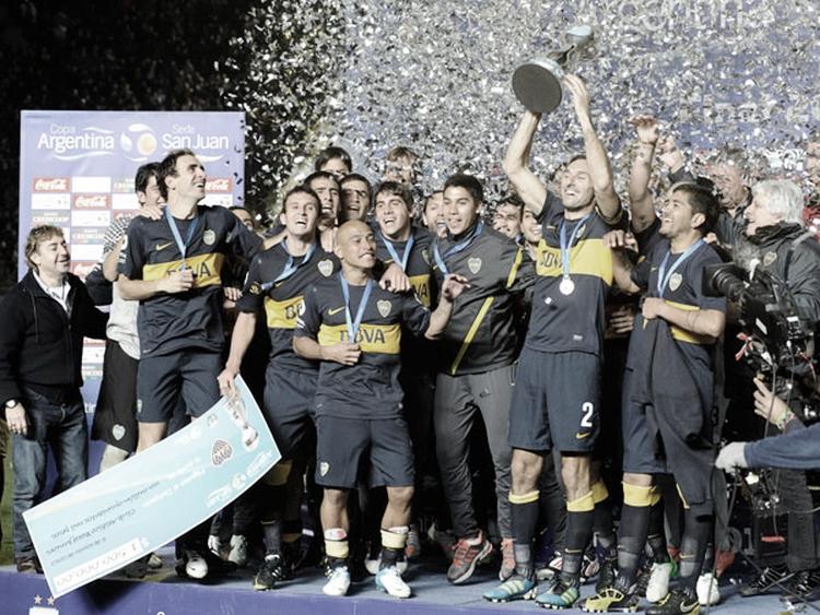 Efemérides: Boca campeón Copa Argentina 2012