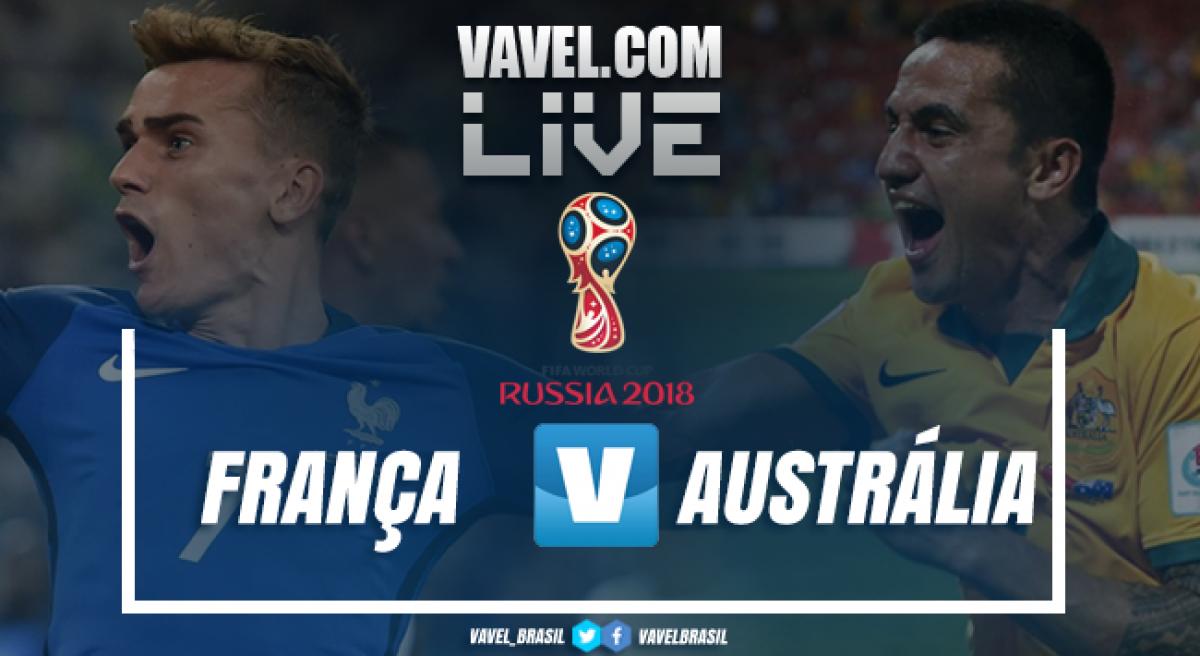 Resultado França x Austrália na Copa do Mundo 2018 (2-1)