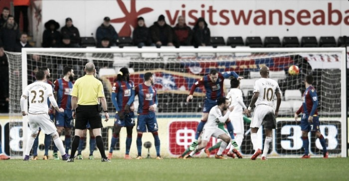 Swansea City 1-1 Crystal Palace: Points shared at the Liberty