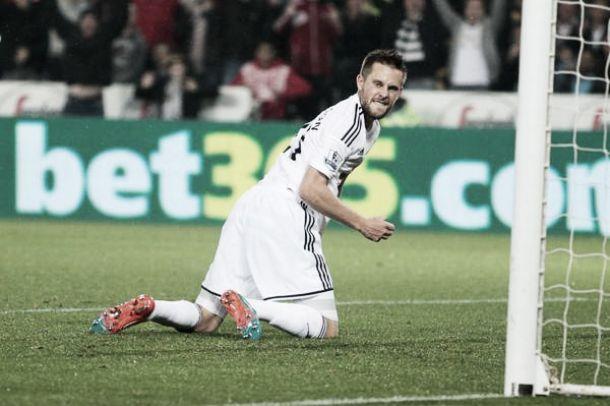 Apabullante triunfo del Swansea ante un Everton inoperante