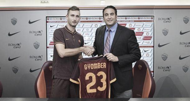 """Roma, si presenta Gyomber: """"Felice di questa chiamata"""""""