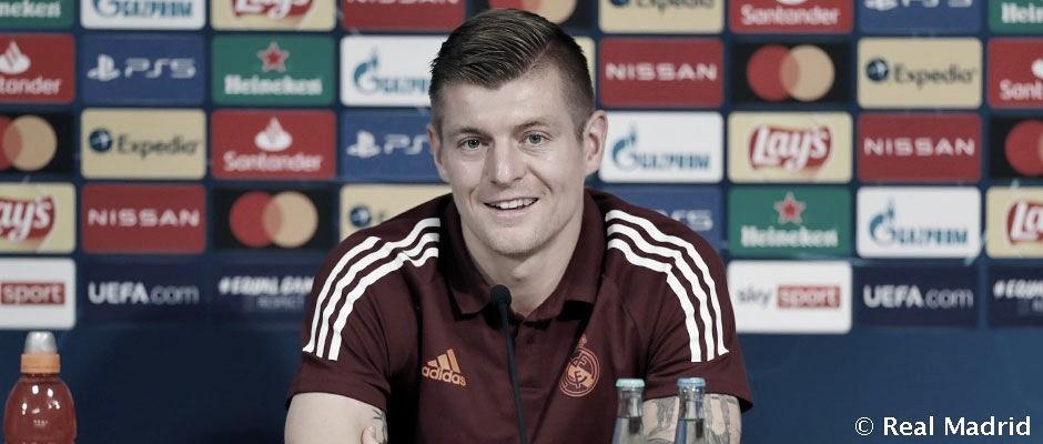 Toni Kroos ha hablado ante los medios de comunicación en la rueda de prensa previa al encuentro de Champions | Foto: Real Madrid