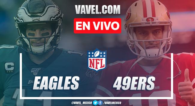 Touchdowns y Resumen del Eagles 25-20 49ers en la semana 4 de la NFL 2020