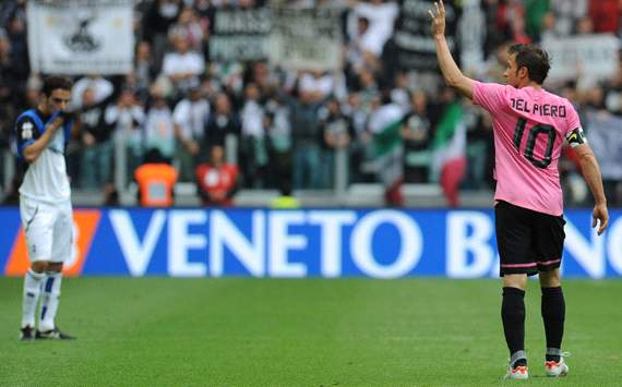 Alessandro Del Piero says goodbye to Juventus Stadium