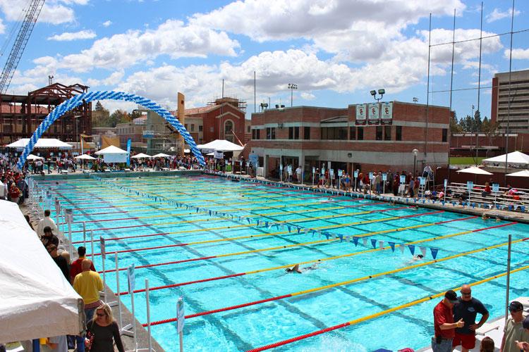 McDonald's Swim Stadium, piscina de verano de los USC Trojans