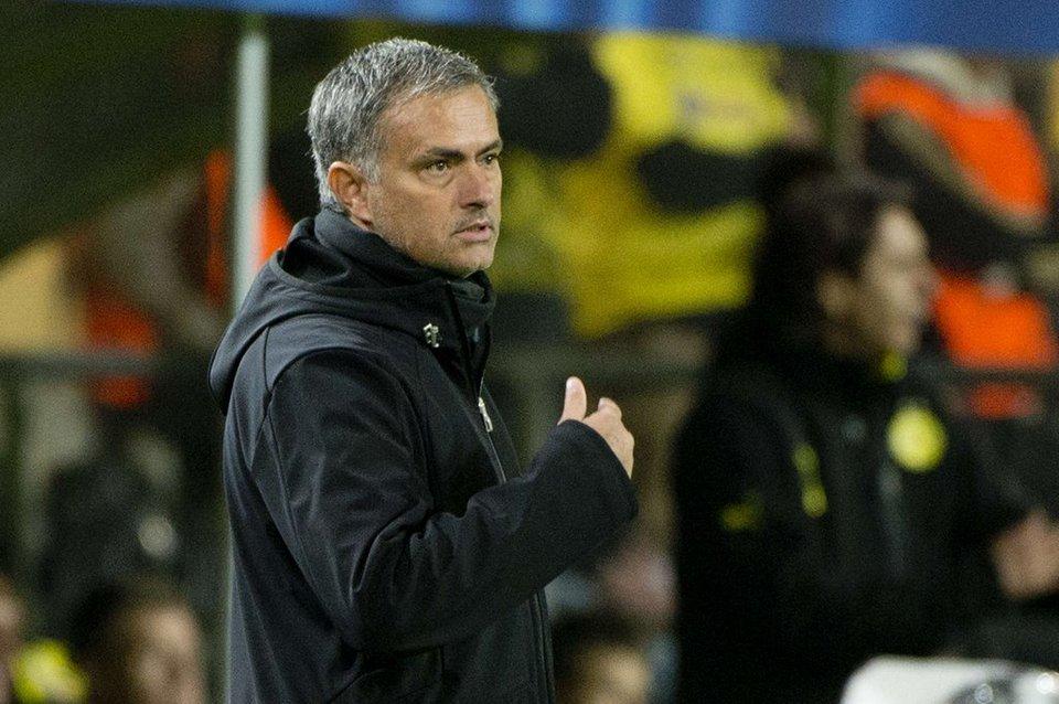 Mourinho ante el Borussia