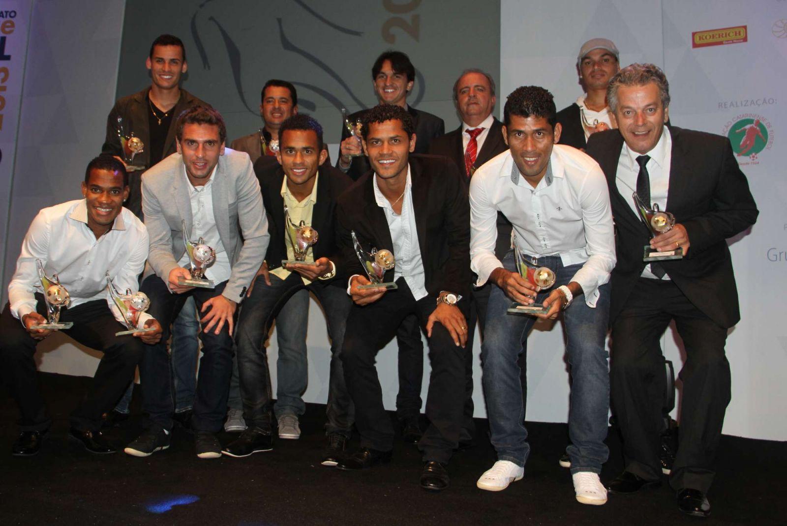 Tigre conquistou 11 prêmios no Top da Bola do Catarinense. (Foto: Fernando Ribeiro/Criciúma EC)