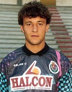 César Sánchez con el Valladolid