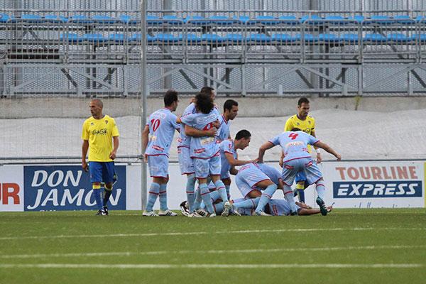 Gol de Coco ante el Cádiz