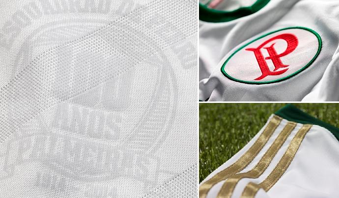 Detalhes da nova camisa do Palmeiras (Foto: Divulgação)