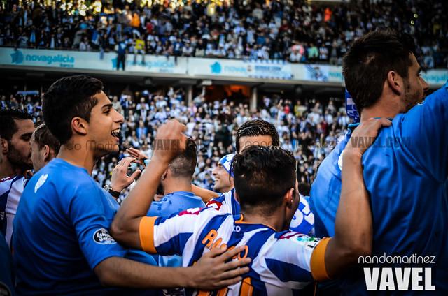 Deportivo  - Jaén (celebración)