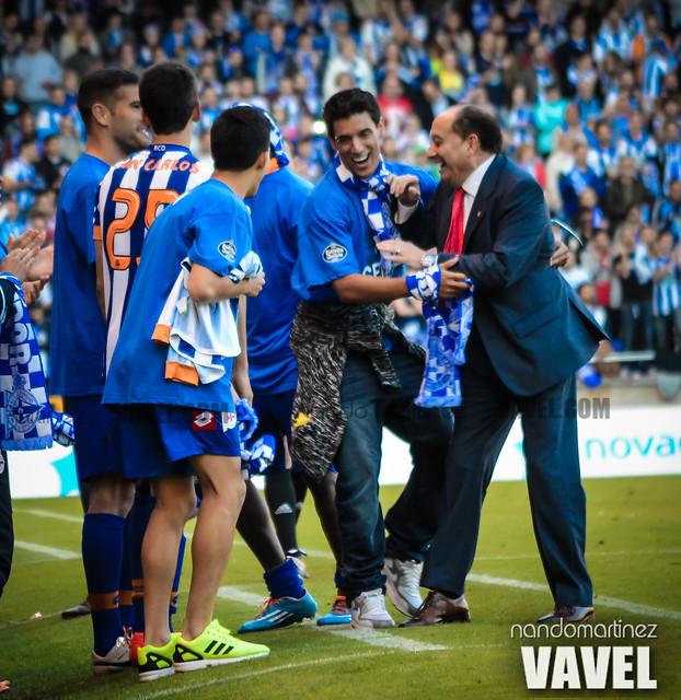 Deportivo - Jaén (Liga Adelante)