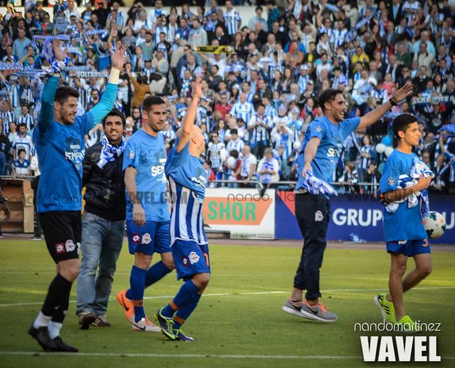 Deportivo - Jaén (Liga Adelante) Celebración