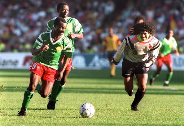 Colombia vs. Camerún. Foto: Goal.com