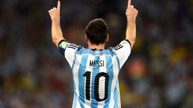 Lionel Messi, el mejor jugador de Argentina