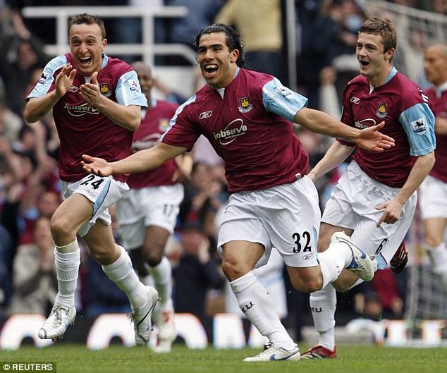 Tevez returns to Upton Park tonight, having kept West Ham safe from relegation back in 2007.