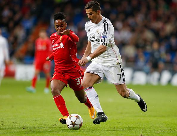 Cristiano Ronaldo e Sterling podem ser colegas em Madrid.