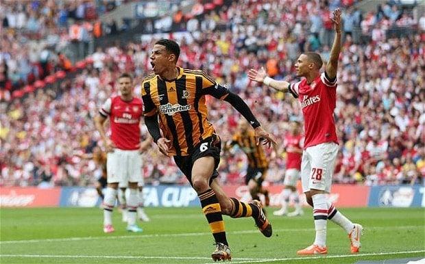 Davies celebra su gol en la final de la FA Cup. Foto: telegraph