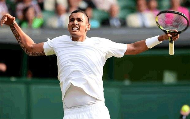 Kyrgios en Wimbledon