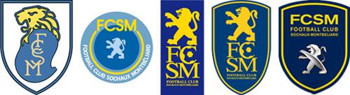 Les anciens logos du club sous Peugeot