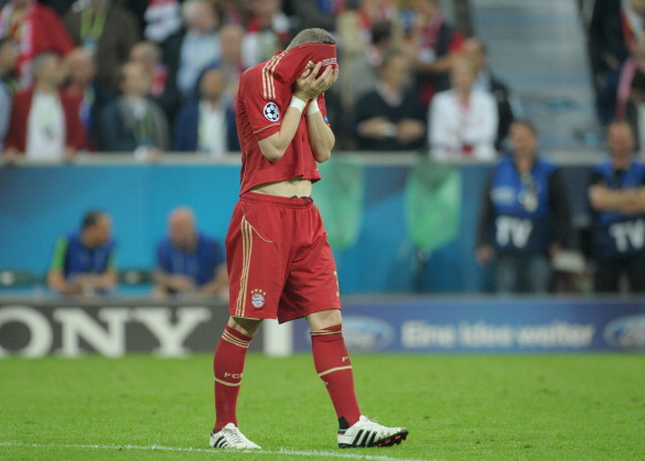 Penalty heartache for the Bayern legend against Chelsea.