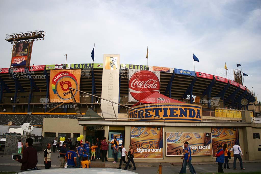 El Estadio del Tigres - River en la final de la Copa Libertadores