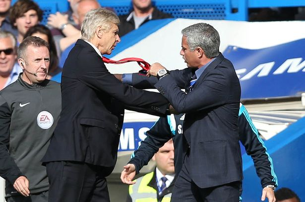Mourinho and Wenger will go toe to toe again (photo: getty)