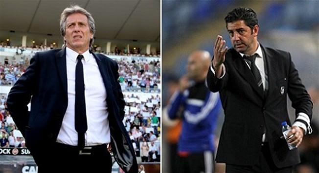 Jorge Jesus e Rui Vitória disputam a Supertaça 2015. (FOTO: José Coelho/LUSA e Tony Dias/GLOBAL IMAGENS)