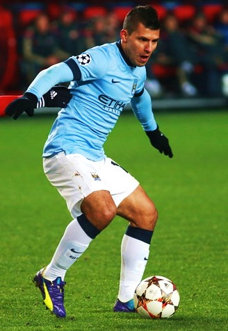 Aguero eager to add to his Champions League tally