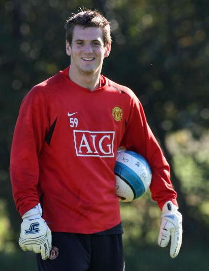 Tom Heaton at Manchester United