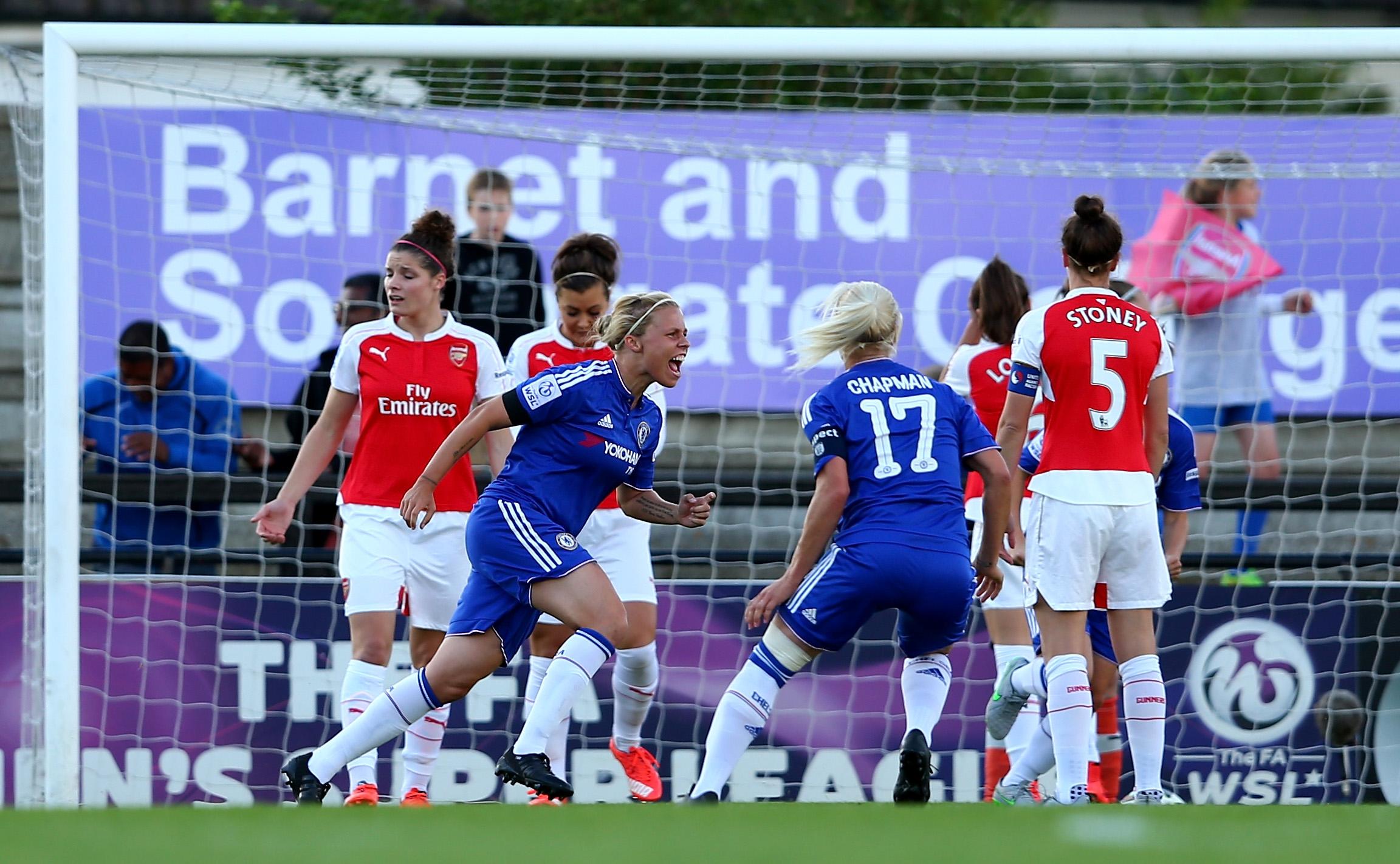 Chelsea dealt Arsenal a huge title blow. (Guardian)