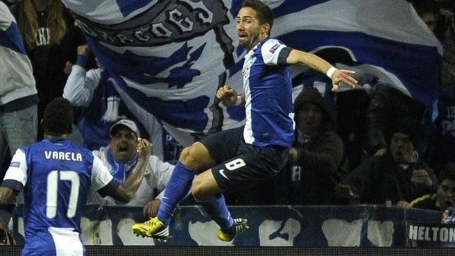Moutinho marcó el único gol del partido