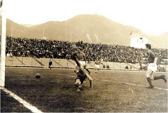 Gol de Di Stéfano a San Lorenzo