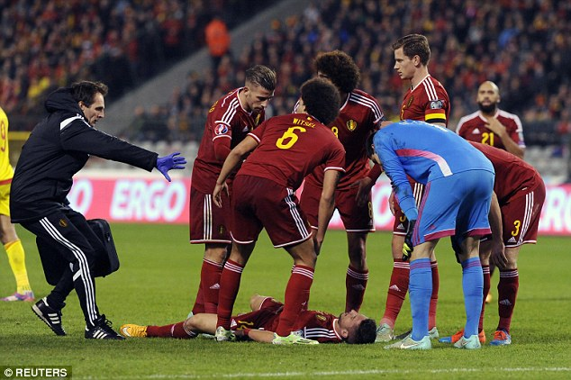 It's not the first time Mertens has been injured on international duty (photo: reuters)