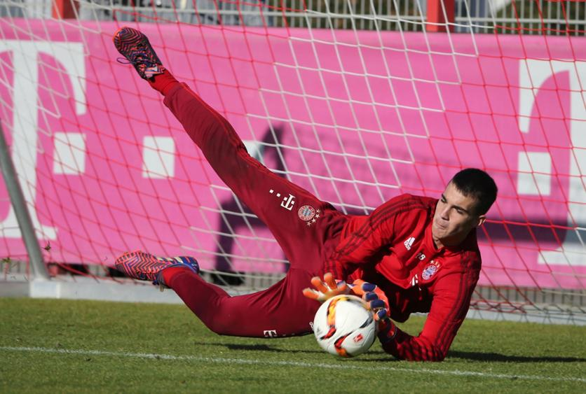 Despite his age, Carevic has seemingly proven his worth to Bayern and Guardiola. (Image credit: TZ.de)