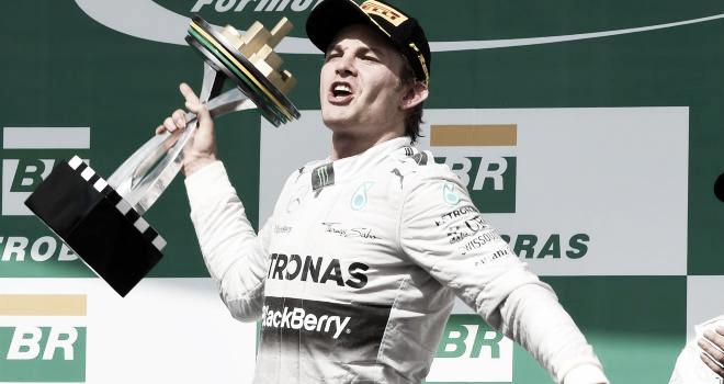 Nico Rosberg won the 2014 Brazil Grand Prix