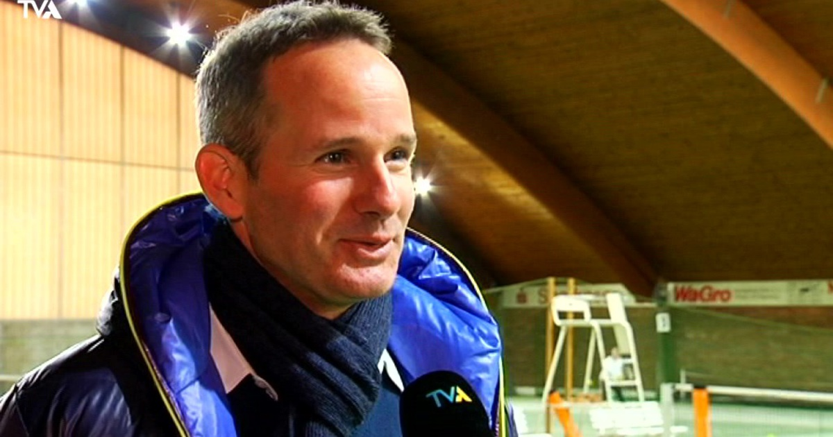 Michael Geserer in a TV interview (Source: TVaktuell)